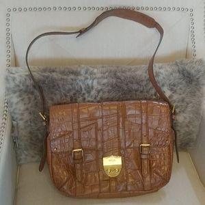 Ralph Lauren Acadian Leather messenger bag